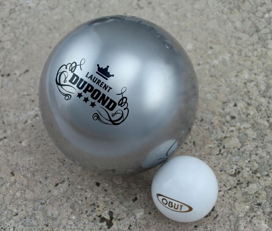 Cadeau personnalis boules de p tanque personalis es for Marque boule de petanque