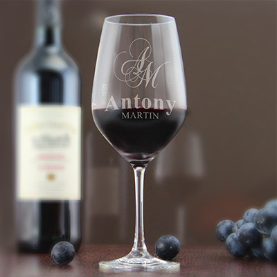 cadeau personnalis verre de vin grav son nom. Black Bedroom Furniture Sets. Home Design Ideas
